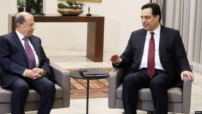 لقاء بين الرئيس عون ودياب قبيل جلسة مجلس الوزراء