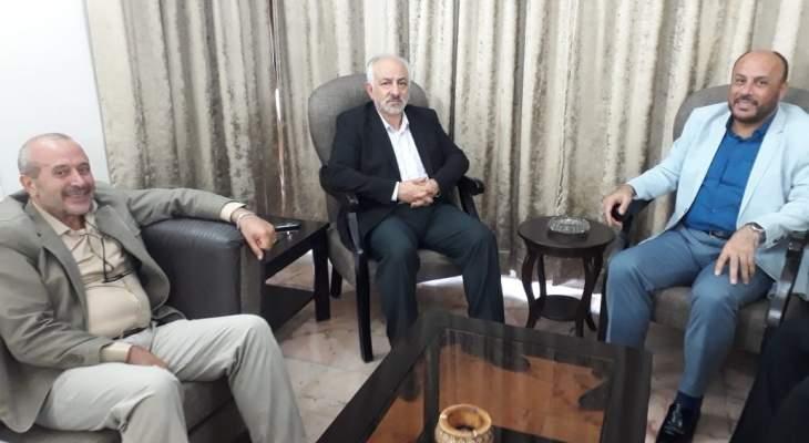 حب الله يلتقي وفدا قياديا من حركة حماس