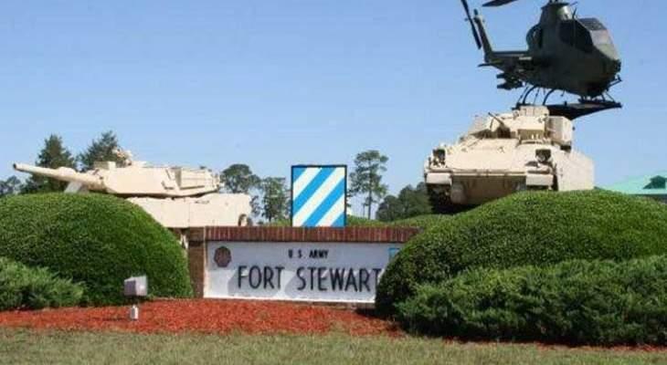 إجراءات أمنية إضافية في قاعدة عسكرية بولاية جورجيا بعد مقتل جندي