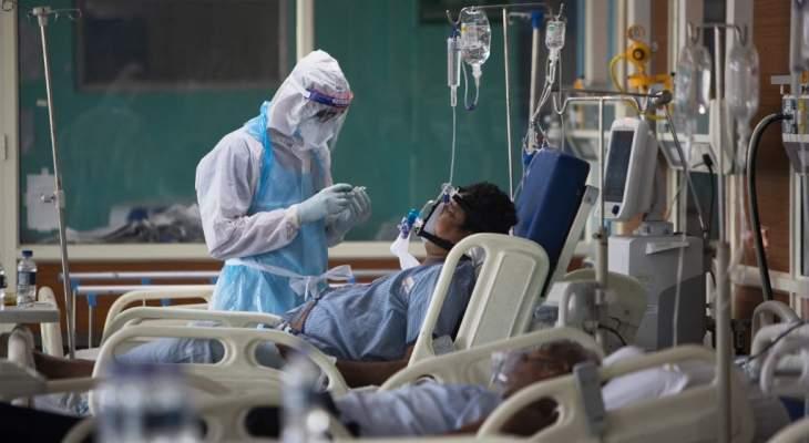 تسجيل 84332 إصابة جديدة بكورونا في الهند بأدنى حصيلة يومية منذ أكثر من شهرين