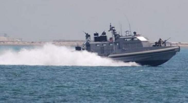الجيش: زورق حربي تابع للعدو الإسرائيلي خرق المياه الإقليمية