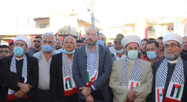 حسن مراد: خيار المقاومة هو الخيار الوحيد للانتصار وتحرير الأراضي العربية المحتلة