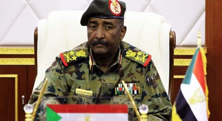 رئيس مجلس السيادة السوداني يلتقي مدير المخابرات المصرية لبحث القضايا المشتركة