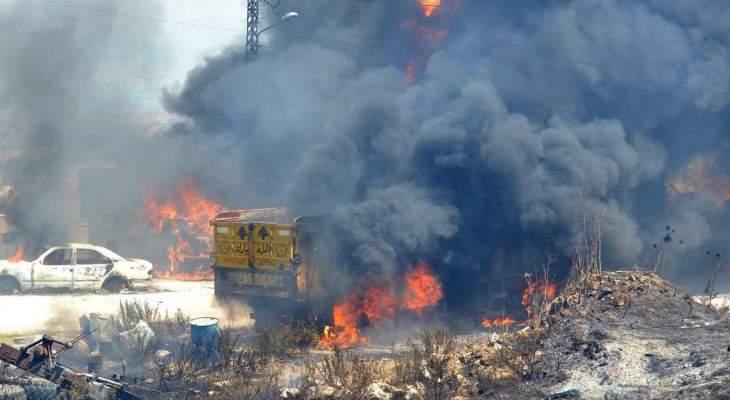 وفاة سوري متأثرا باصابته في انفجار التليل