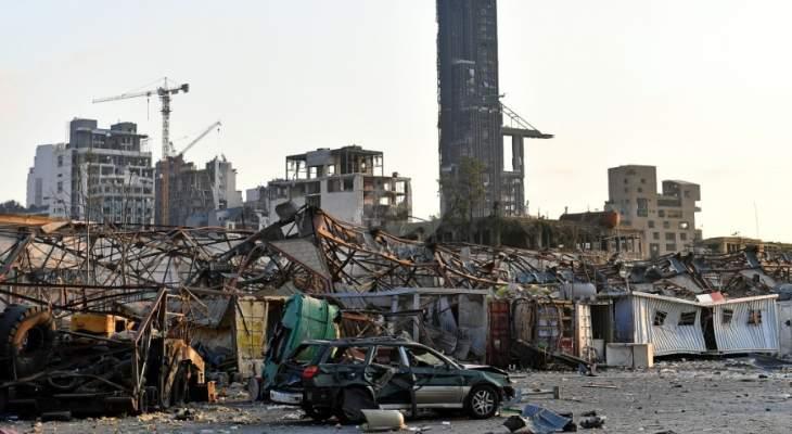 الجمهورية: انفجار مرفأ بيروت عطل توجها جديا لتعديل نوعي للحكومة