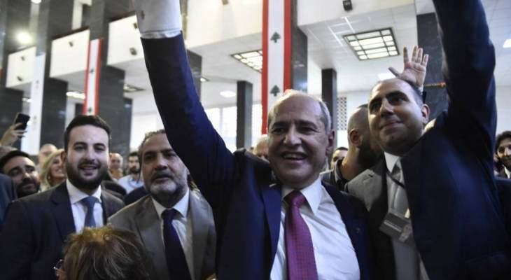 وصول نقيب محامي بيروت ملحم خلف الى سرايا جونيه لمتابعة قضية الموقوفين