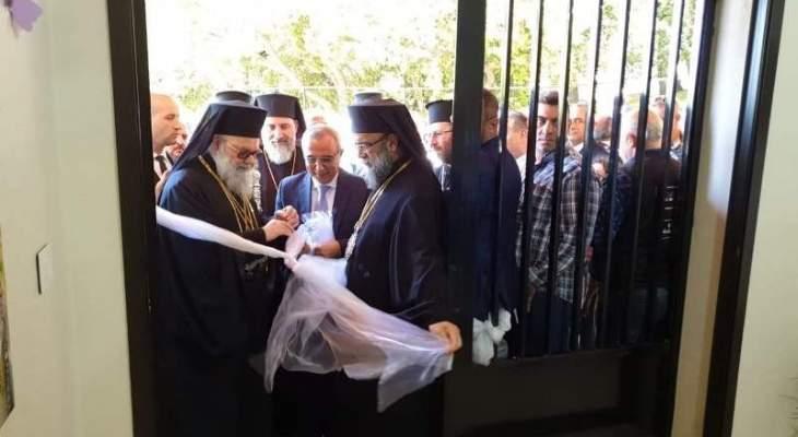 البطريرك يازجي يواصل زيارته الراعوية إلى منطقة الجومة