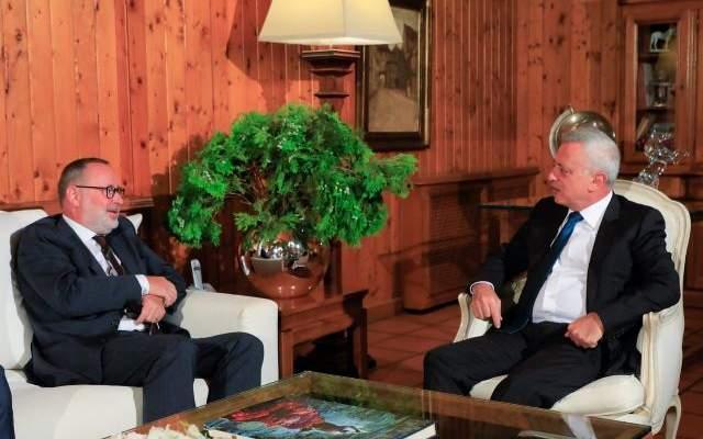 فرنجيه استقبل سفير النرويج والبحث تناول الاوضاع الراهنة