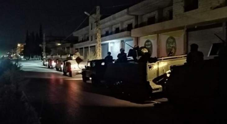النشرة: قتيل وجريحان باشتباكات بين الجيش ومطلوبين في حي الشراونة ببعلبك