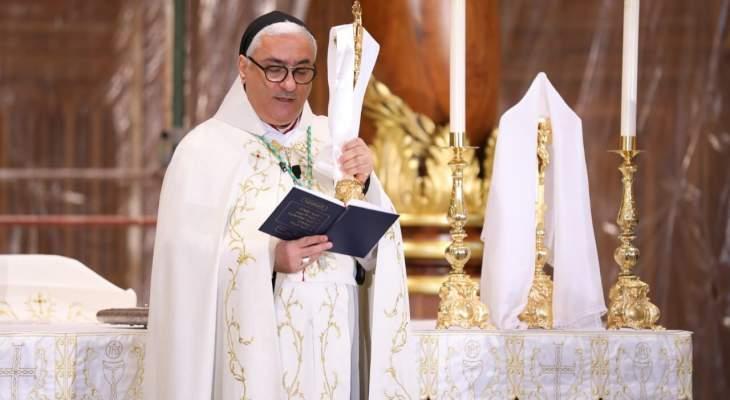 عبد الساتر بقداس أحد القيامة: لبنان سيقوم كما المسيح وأنتم ستهربون كما الحراس عند القبر