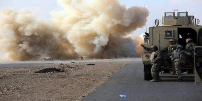 استهداف رتل للتحالف الأميركي بعبوة ناسفة في محافظة صلاح الدين العراقية