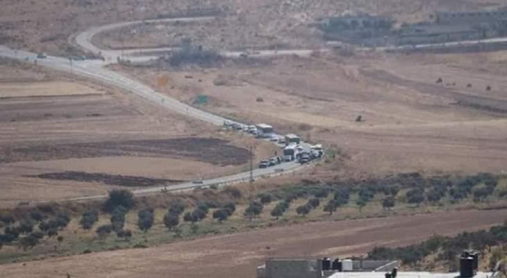 النشرة: دورية اسرائيلية مشطت الطريق ما بين تلال الوزاني ووادي العسل