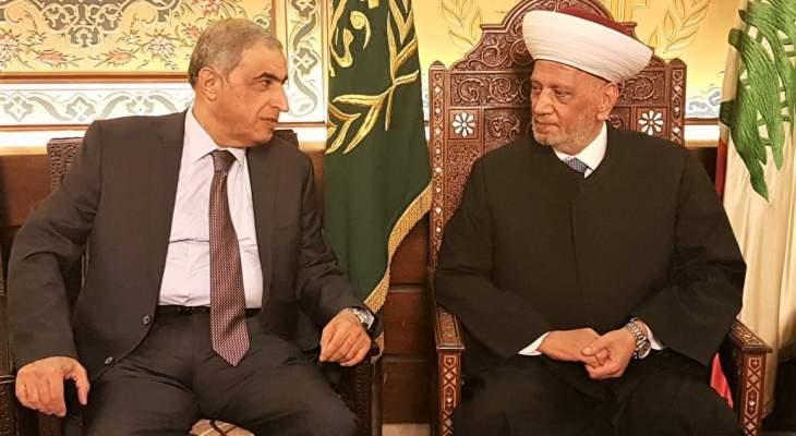 هاشم: علينا العمل على وحدة الموقف الداخلي من اجل مواجهة الظروف الاقتصادية