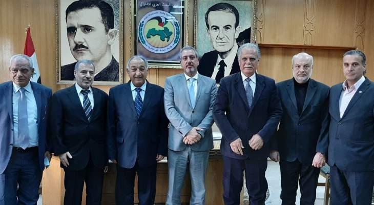 رئيس الحزب السوري القومي: سوريا هي الحاضنة القوميّة لكل قوى الصمود والمقاومة في أمتنا