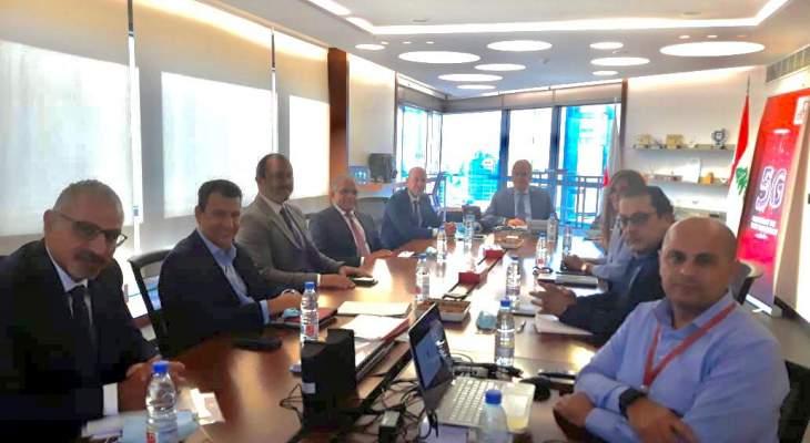 """القرم زار """"ألفا"""": نؤكد ضرورة تحسين قطاع الاتصالات لأنه يشكل شرايين الاقتصاد اللبناني"""