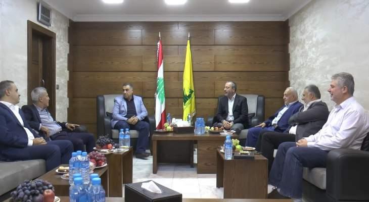 """""""حزب الله"""" و""""أمل"""" بالجنوب: لعدم الرضوخ للعدوان الاقتصادي الأميركي على لبنان"""