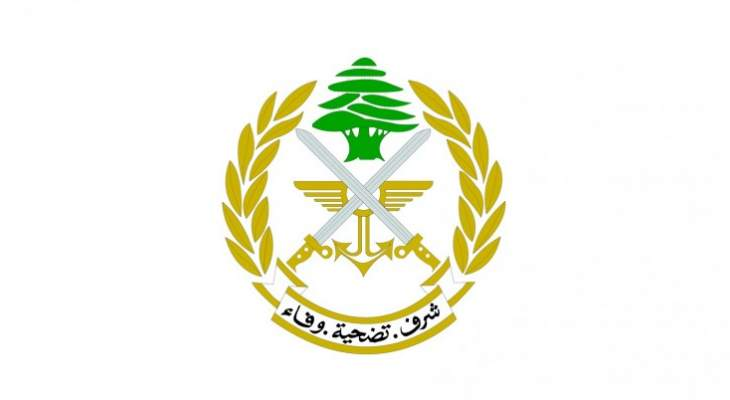 الجيش: إصابة ضابط ومقتل مسلح وتوقيف آخر عقب إطلاق النار على دورية بالعسيرة ببعلبك