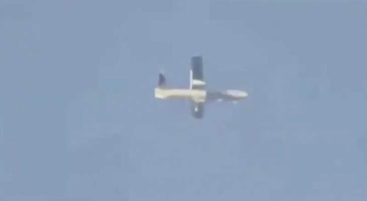 النشرة: طائرة إسرائيلية مسيرة تحلق فوق قرى وبلدات حاصبيا والعرقوب