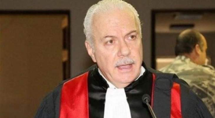 القاضي عبود دعا لانتخاب قاضيين في الهيئة الوطنية لمكافحة الفساد