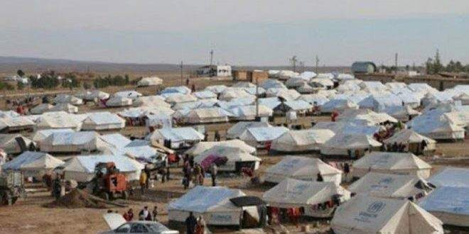 تسمم واختناق عدد من الأطفال في مخيم الهول شمالي سوريا