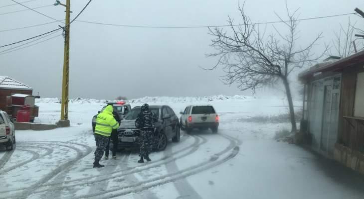 قوى الأمن: نحذر المواطنين من التوجه للمناطق الجبلية خلال فترة الإقفال