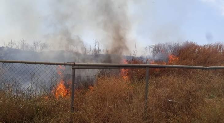 النشرة: إخماد 3 حرائق قصب في جنوب مدينة صيدا