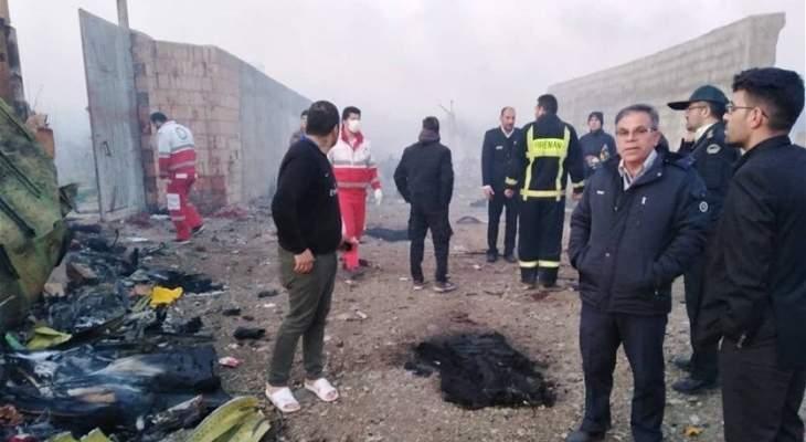 سلطات أوكرانيا ترسل طائرة عسكرية لاستعادة جثث ضحايا الطائرة المنكوبة من إيران