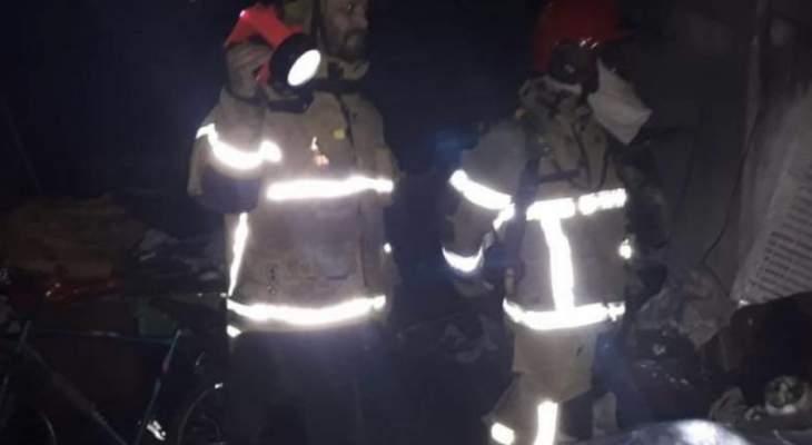 وفاة طفل وإصابة شقيقه ووالدتهما في حريق إندلع في منزلهم في الكسليك
