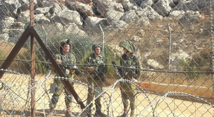 معلومات عن تسلل لشخصين الى شمال اسرائيل ووجود اثار فتحة بالجدار الحدودي مع لبنان