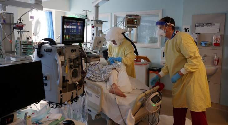 """تسجيل 7 حالات وفاة و2027 إصابة جديدة بفيروس """"كورونا"""" في بريطانيا"""
