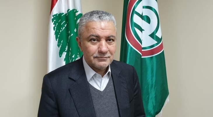 محمد نصرالله عرض مع علوية مسألة تقنين التيار الكهربائي في بلدات البقاع الغربي