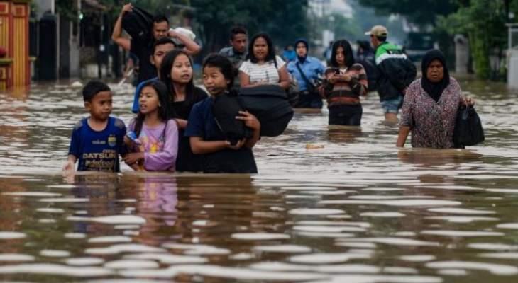 أكثر من 50 قتيلا في فيضانات تضرب إندونيسيا وتيمور الشرقية