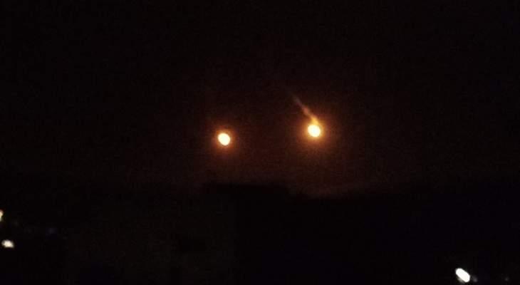 الجيش الإسرائيلي أطلق 3 قنابل مضيئة مقابل بلدة عيتا الشعب الجنوبية