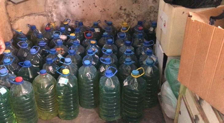 الجيش: دهم منزل في منطقة باب الرمل بطرابلس وضبط كمية من مادة البنزين