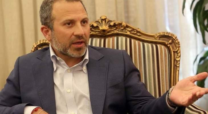 مصدر نيابي للقبس: لا يمكن لباسيل الدخول الى منطقة على وقع التوتر والخطاب التحريضي