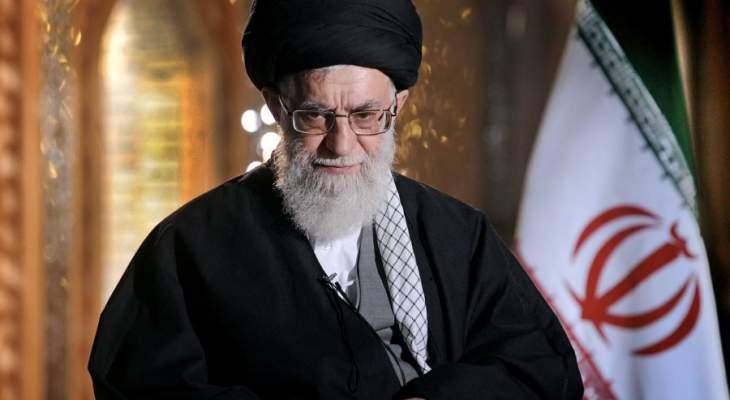 خامنئي: العدو يعلم أنه إذا استهدف إيران فإنه سيتلقى عشرة صواريخ عن كل صاروخ