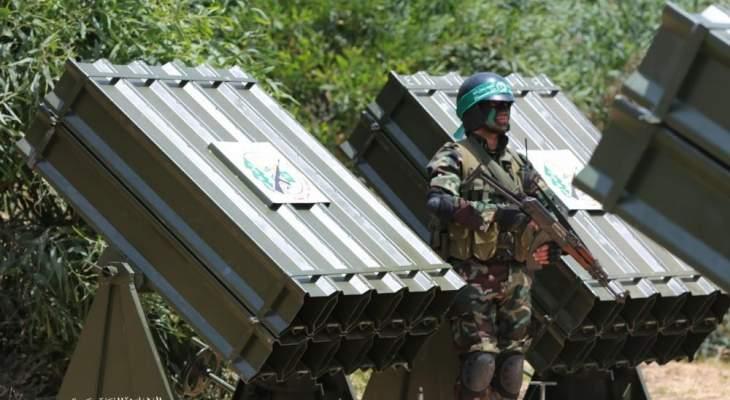 ضابط استخبارات إسرائيلي: حماس ما زالت تمتلك مئات الصواريخ البعيدة