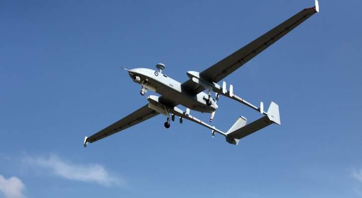 تحليق للطيران الحربي الإسرائيلي في أجواء القطاع الأوسط من قضاء بنت جبيل