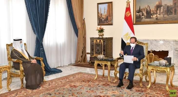 السيسي أكد ارتباط أمن الخليج بالأمن القومي المصري
