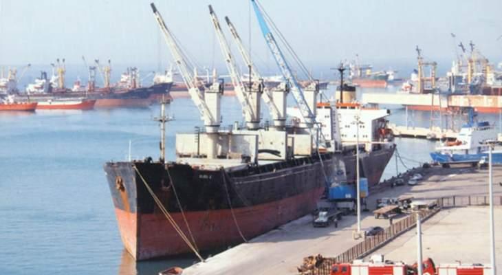النقل السورية: إغلاق الموانئ التجارية في البلاد أمام الملاحة البحرية بسبب سوء الأحوال الجوية