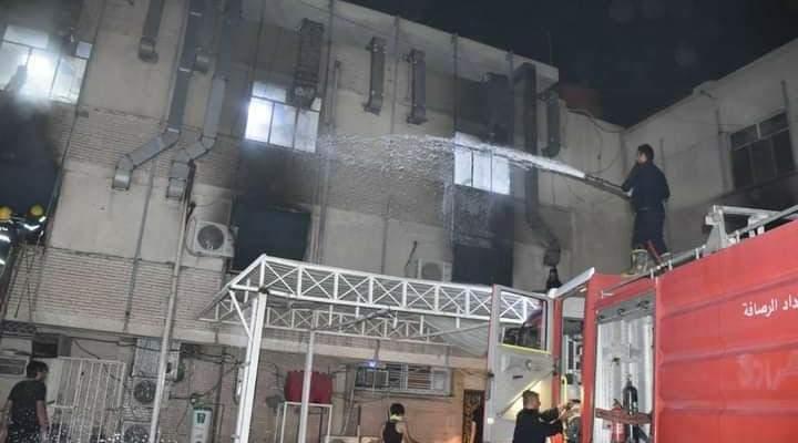 """وزير الصحة العراقي قدم استقالته على خلفية حريق مستشفى """"ابن الخطيب"""""""
