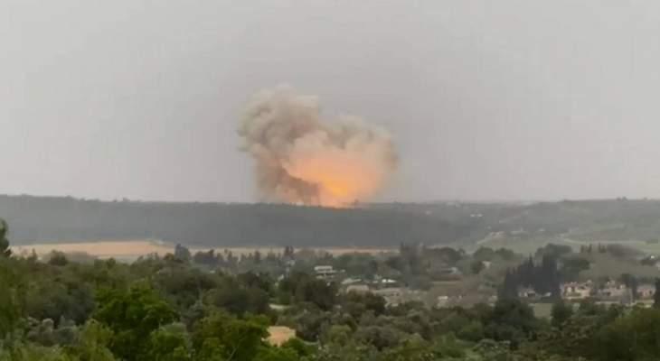 انفجار ضخم بمنشأة إسرائيلية للصناعات الدفاعية خلال تجارب صاروخية