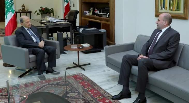 سليم عون: بحثت مع الرئيس عون معاناة الطلاب اللبنانيين في الخارج