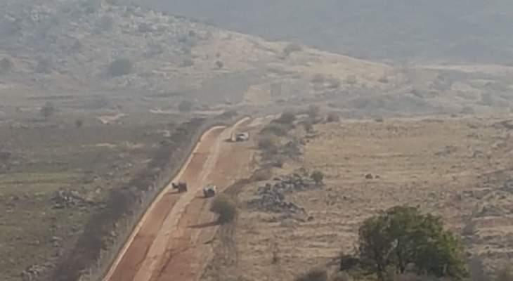 النشرة: قوة اسرائيلية مشّطت الطريق العسكري ما بين تلال الوزاني ووادي العسل
