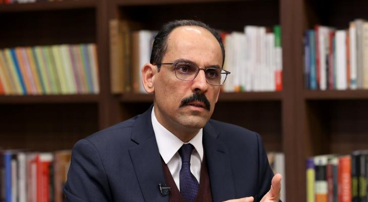 الرئاسة التركية: قالن وسوليفان بحثا بالعلاقات الثنائية والتطورات في أفغانستان وسوريا وشرقي المتوسط
