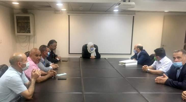 الحريري التقت حبيش ووفدا من المؤسسات التعليمية الخاصة في عكار