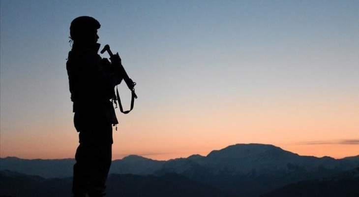 """الدفاع التركية: مقتل عسكريَين في اشتباكات مع إرهابيي """"بي كا كا"""" بولاية هكاري"""