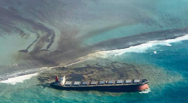 وزير النقل الياباني: إرسال فريق تحقيق إلى موريشيوس بشأن حادث تسرب النفط