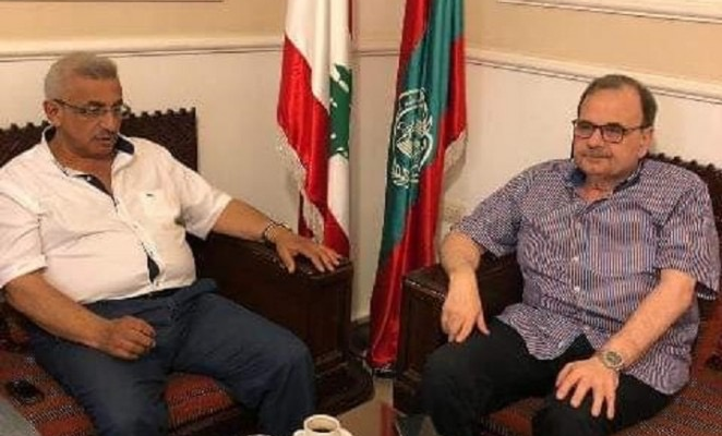 أسامة سعد التقى البزري وبحث معه مقررات مجلس الوزراء
