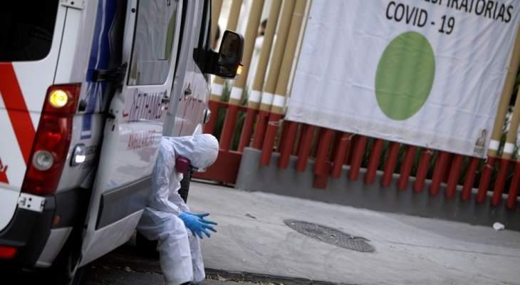 الصحة المكسيكية: 1027 إصابة جديدة و112 حالة وفاة بفيروس كورونا
